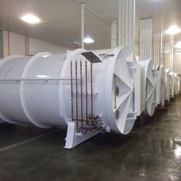 Máy sấy thăng hoa công nghiệp Cuddon