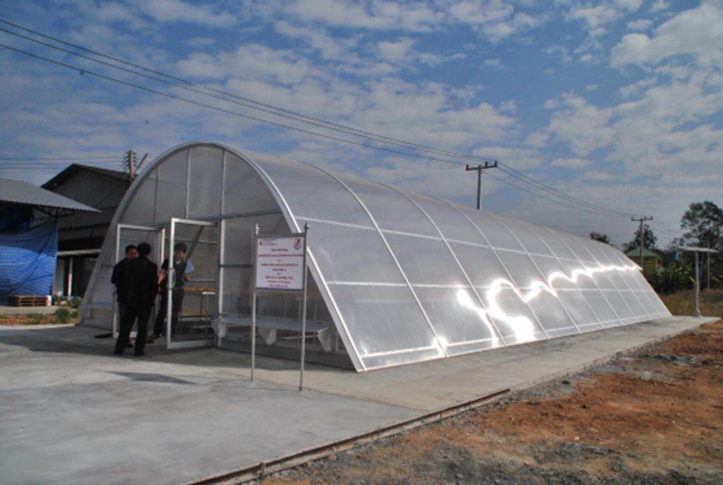 nhà sấy solar D2