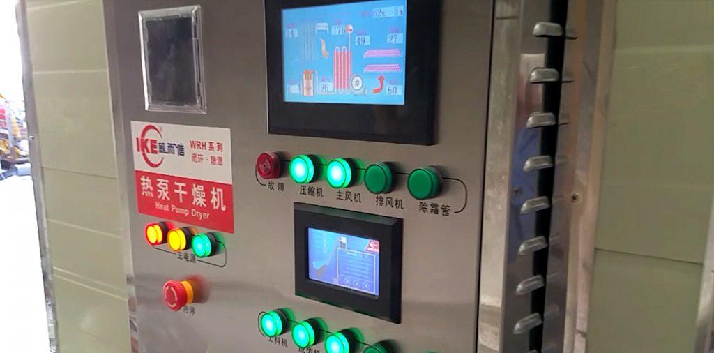 Màn hình điều khiển băng tải sấy