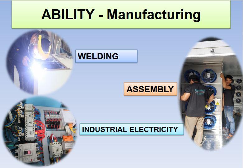 Cơ khí – Điện công nghiệp