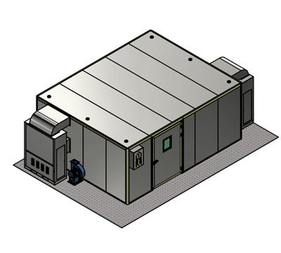 Máy sấy bơm nhiệt HT-B6